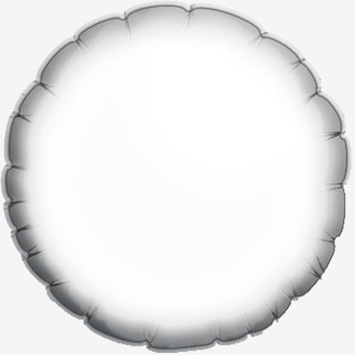 Personalizado Baby-Blue Heart Foil Balloon - Paquete de 10