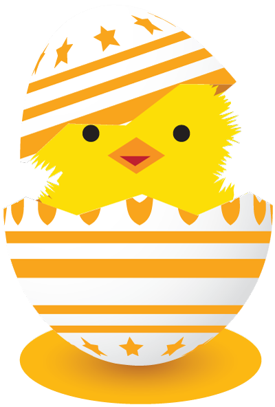 Baby Chicken Clipart Image