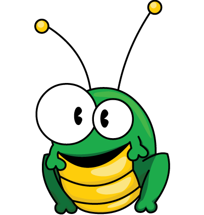 Green Bug Clipart Image