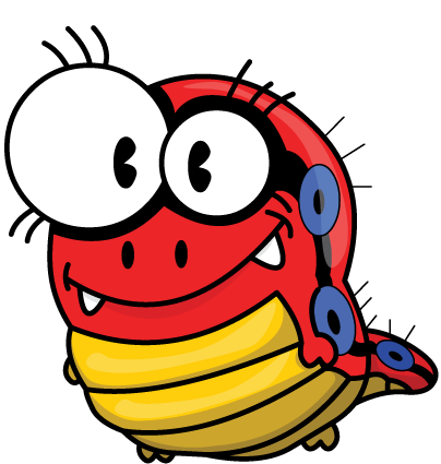 Red Bug Clipart Image