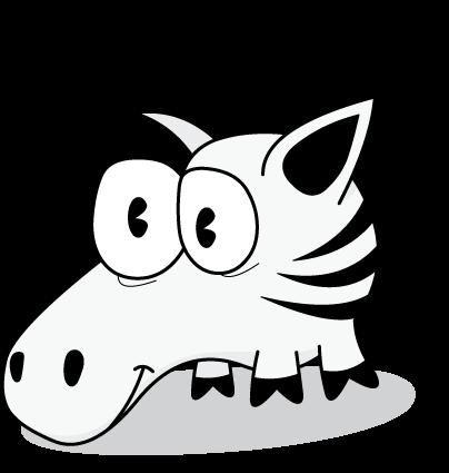 Zebra Clipart Image