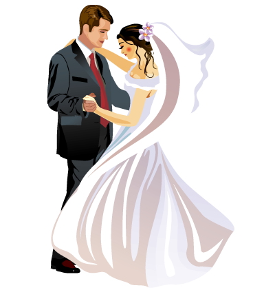 Dancing Couple Clipart Image