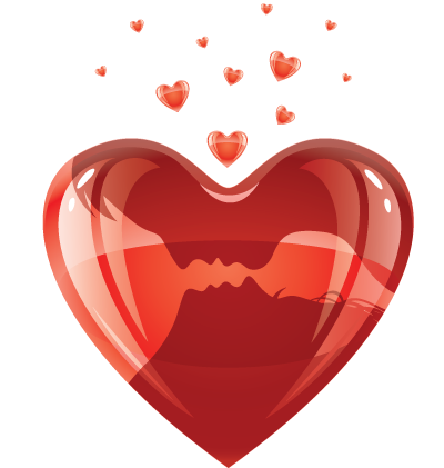 Red Heart Clipart Image
