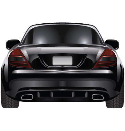 Black Car Clipart Image