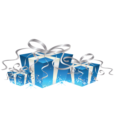 Christmas Presents Clipart Image