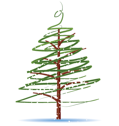 Christmas Tree Clipart Image