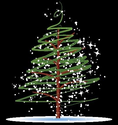Christmas Tree Clipart Image