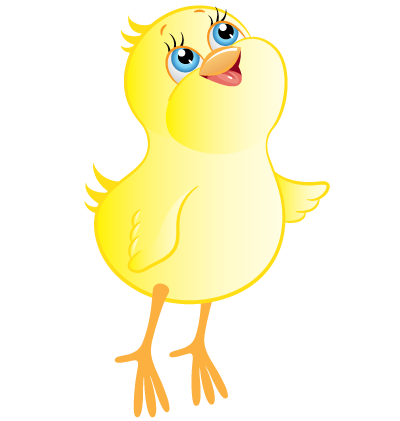 Easter Chick Clipart Image