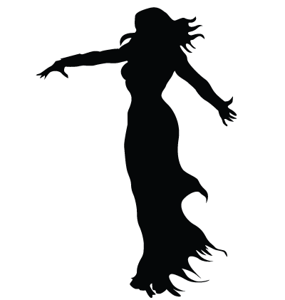 Halloween Witch Clipart Image