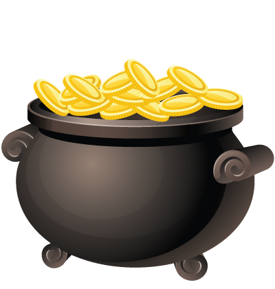 Pirate Gold Clipart Image
