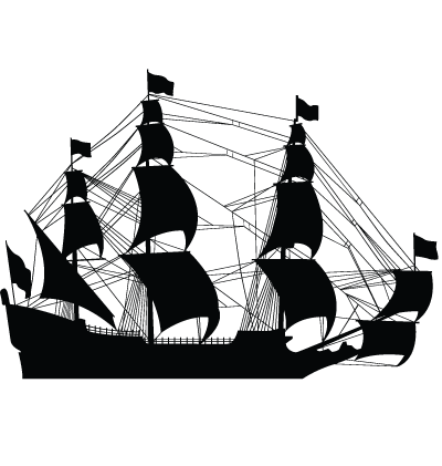 Pirate Ship Clipart Image