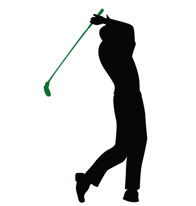 Golfer Clipart Image
