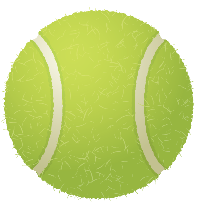 Tennis Ball Clipart Image