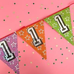 Banderas Primer Cumpleaños