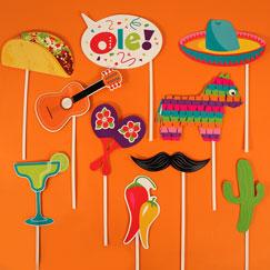 Accesorios para fiesta temática mexicana