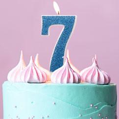 Suministros de fiesta de cumpleaños 7
