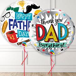 Globos del Día del Padre