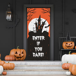 Puerta De Halloween Cubre