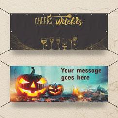 Banners personalizados de Halloween