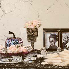 Decoraciones de mesa de Halloween