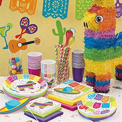 Suministros para fiestas mexicanas