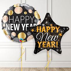 Globos de fiesta de año nuevo