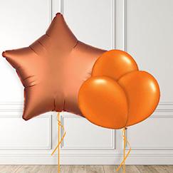 Globos anaranjados