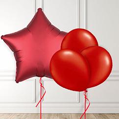 Globos rojos