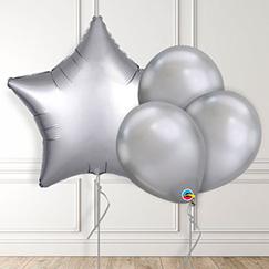 Globos de plata