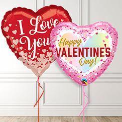 Globos de fiesta del día de San Valentín y accesorios