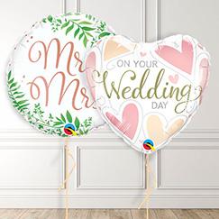 Globos del día de la boda