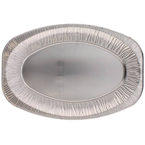 Plato de Foil Mediano Ovalado 43 cm