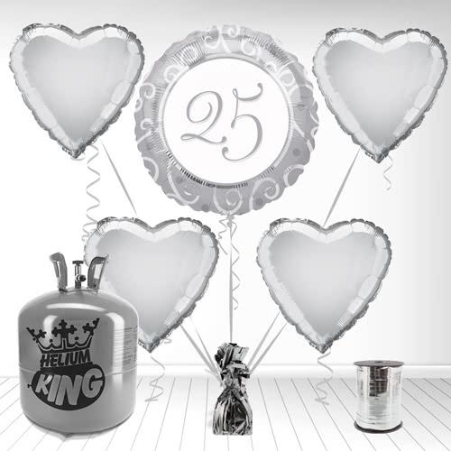 25º Aniversario de Plata Paquete de Gas Helio