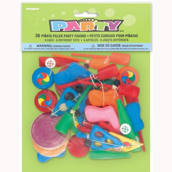 36 Juguetes De Piñata (Relleno Para Piñata)
