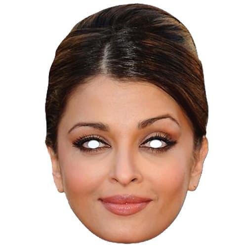 Aishwarya Rai Bachchan Máscara de Cartón - Unidad