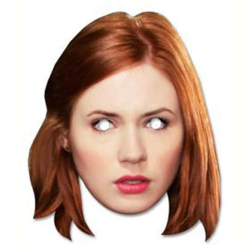 Amy Pond Persona Famosa Máscara de Cartón - Unidad