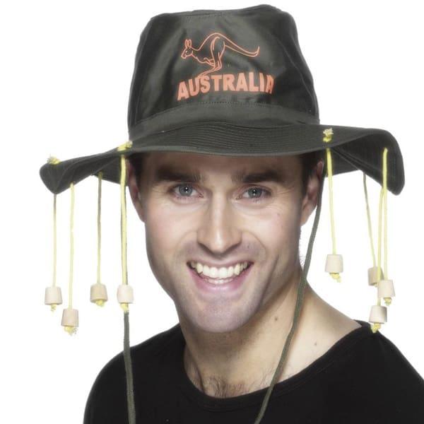 Sombrero Aussie Con Corchos
