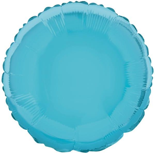 Globo Foil Redondo Azul Bebé de 45 cm