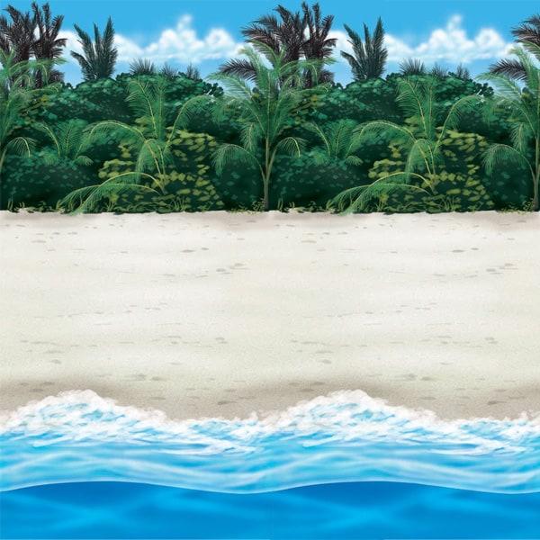 Playa - Decoración de Cuarto Rollo