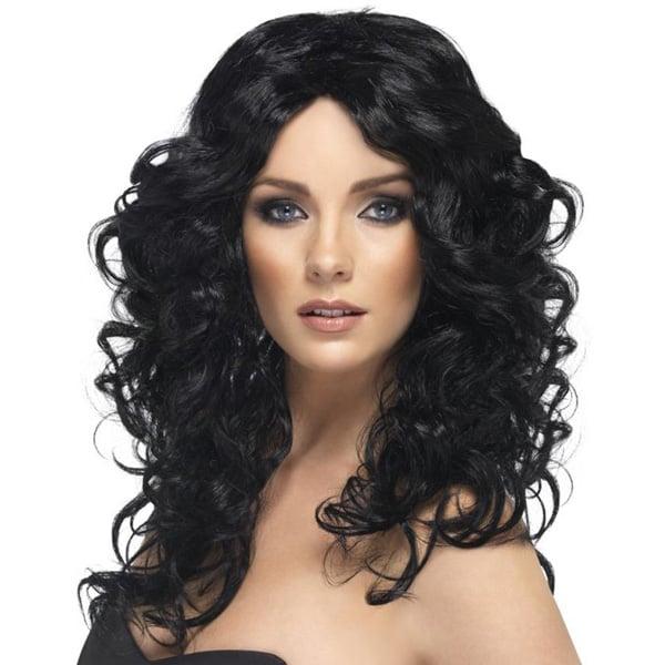Peluca Glamour Negro