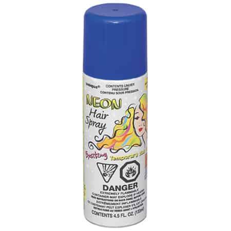 Spray de Pelo Azul