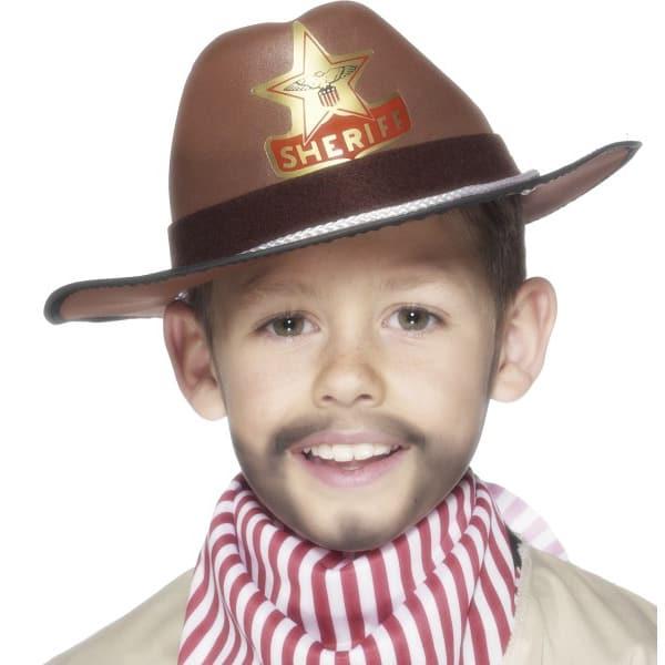 Marrón Eva Niños Sombrero de Vaquero
