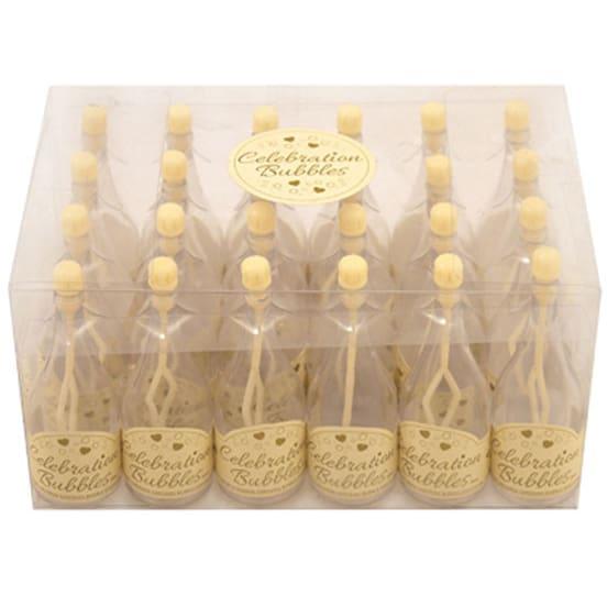 Champanera Pomperos de Botella Crema - Pack de 24