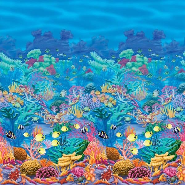 Rollo para decorar ambientes de un Arrecife de Coral
