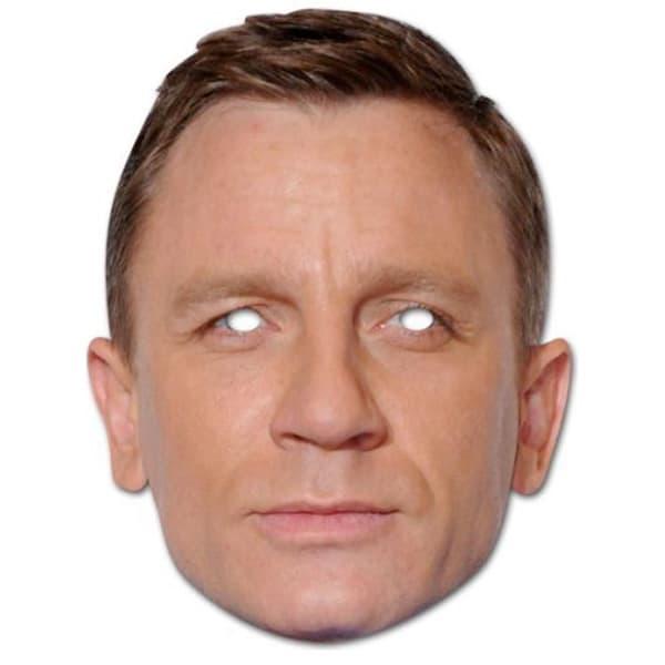 Daniel Craig Persona Famosa Fiesta Máscara - Unidad