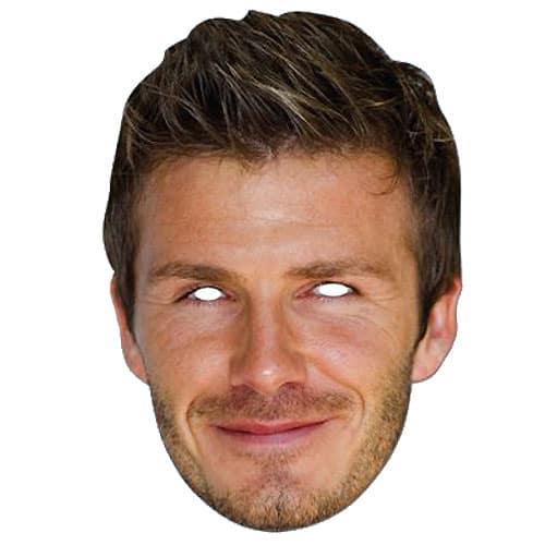 David Beckham Persona Famosa Fiesta Máscara - Unidad