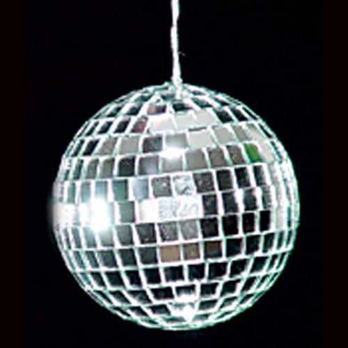 Bola de Discoteca Deluxe Mirror - 3 Pulgadas / 8cm - Paquete de 6