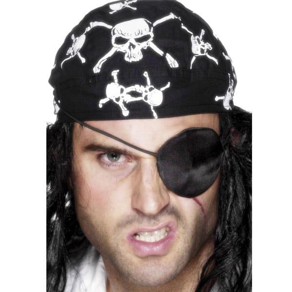 Satén Deluxe Parche de Pirata