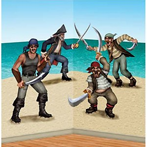 Agregados de creadores de entorno de Piratas y bandidos luchando