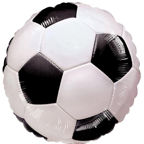 Fútbol Globo de Foil Redondo 46 cm